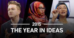 Assista agora à retrospectiva das melhores ideias que foram espalhadas durante o ano de 2015!