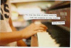 aaron copland, flow, hands, music, piano