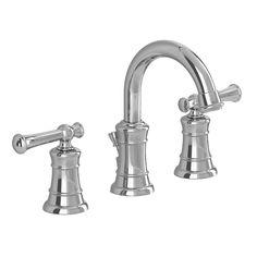 American Standard Emory Chrome 2-Handle Widespread WaterSense Bathroom Faucet (Drain Included)