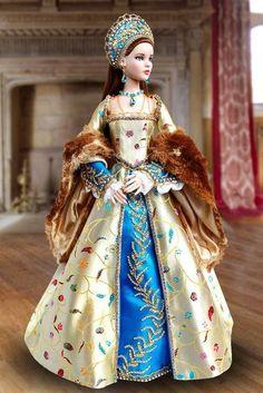 Barbie Gowns, Doll Clothes Barbie, Pretty Dolls, Beautiful Dolls, Ooak Dolls, Blythe Dolls, Disney Dolls, Doll Costume, Barbie Collection