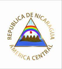 Resultado de imagen para mapa, escudo nacional y bandera de  Nicaragua
