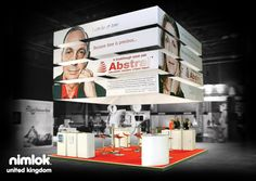 Nimlok specializes in trade show ideas and trade show exhibits. For Abstral , we designed and built a custom 20' x 20' booth solution to showcase their brand.