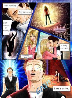 """Doctor Who - Jack's Escape"" Page 2 by ~Rhea-Batz on deviantART. Visit: whirlydoodle.tumblr.com #doctorwho #fanart #fancomic"