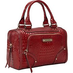 Dixon Satchel Sangra Red   #eBags and #eBagswishlist