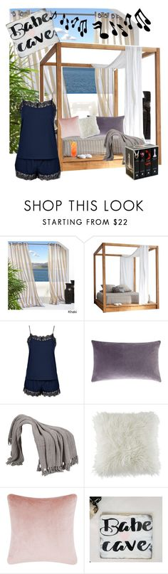 """""""Babe Cave"""" by missmygreenhair ❤ liked on Polyvore featuring interior, interiors, interior design, home, home decor, interior decorating, MASH Studios, Topshop, BCBGeneration and Tom Dixon"""