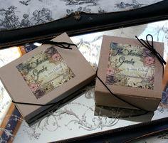 ❥ beautiful gift boxes