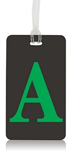 #Letter #Luggage & #backpack #Tags - #Initial #Baggage ID #Labels - #Bendable #Terminal #Friendly #Travel #Luggage ID #Tag for #Suitcase #Backpack #Carry on - #Universal #Travel #Luggage ID #Bag #Tags #TERMINAL #FRIENDLY | HIGH VISIBILTY: Boldly initialed alphabetized #tags give you a clear view of your bags on the conveyer belt, alleviating the stress of locating your #bag in the #terminal arrival lounge. Securely conceals your personal information card in its incorporated c