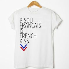 T-shirt « French Kiss »