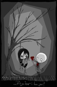 Dark Valentine Vampire Goth Love
