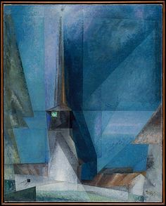 Gelmeroda / Lyonel Feininger / 1936 / oil on canvas / at the Met