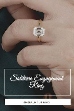 2.5CT Emerald Cut Solitaire Unique Engagement Ring, Lovely Diamond Wedding Ring, Antique Gold Ring, Bridal Promise Anniversary Gift For Her Description of Ring ● Moissanite Details → Stone Shape: Emerald Cut → Stone carat Weight : 2.50 CT → Stone Measurement : 12.0x9.80x6.50 mm → Stone Color: Colorless → Stone Clarity: VVS → Mohs Scale : Moissanite 9.25 → Refractive Index : 2.65 (Moissanite) ●Band Width : 1.80 MM ●Band thickness : 1.80 MM #vintagering #diamondring #weddingring
