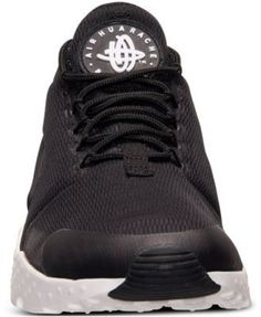 Nike Women s Air Huarache Run Ultra Running Sneakers from Finish Line -  Black 8.5 Finish Line 1f548b177d