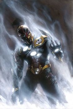 Nova on the cover of ANNIHILATION #6 By Gabriele Dell'Otto #Comics