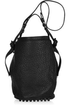 Alexander Wang|Diego textured-leather bucket bag