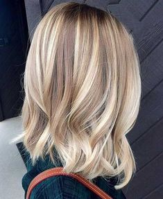 Blonde bayalage hair color trends for short hairstyles 2016 - 2017 Balayage , Blonde Bayalage Hair, Cool Blonde Hair, Hair Color Balayage, Balayage Hairstyle, Short Balayage, Fall Blonde Hair Color, 2017 Hair Trends Colour Blonde, Blonde Balayage Highlights, Blonde Balayage Mid Length