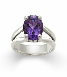 Oval Amethyst Ring | James Avery