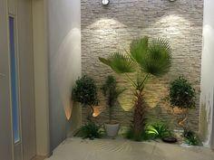 Resultado Small Corner Wall Garden rnrnSource by jdrjec Home And Garden, Wall Garden, Small Garden, Garden Design, Winter Garden, Indoor Garden, Exterior Design, Interior Garden, Patio Interior