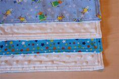 Small Baby Security Blanket - DIY Tutorial