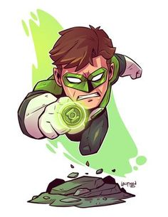 The Green Lantern, Marvel, Heroes, Super Heroes, Cartoons, Drawing, Sketches, Doodles, Comics, Comic Con, Mini Hero, Super Hero,