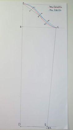 Cómo hacer el patrón de la manga base - Acf Studio Line Chart, Base, Patron Couture, Sewing Patterns, Yellow Blouse, Sewing Tips, Doll Clothes