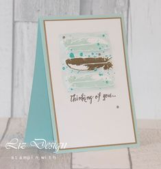 Stampin with Liz Design Feather Together Stampin Up Card