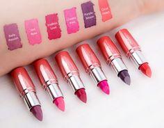 #lipstick #vegan #makeup #swatches