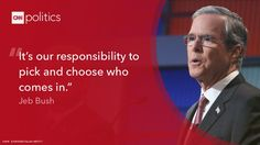 CNN September 2015 Republican Debate - Jeb Bush