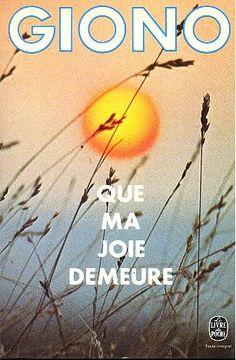 """Jean GIONO - Que ma joie demeure : """"C'était une nuit extraordinaire. Il y avait eu du vent, il avait cessé, et les étoiles avaient éclaté comme de l'herbe. Elles étaient en touffes avec des racines d'or, épanouies, enfoncées dans les ténèbres..."""""""