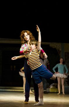 Ruthie Henshall (Mrs. Wilkinson) and Matteo Zecca (Billy). Billy Elliot The Musical ♡ www.LOVEtheatre.com/tickets/856/Billy-Elliot-The-Musical?sid=PIN