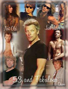 Jon Bon Jovi (3-5-15) ... not getting older ... getting BETTER than ever!