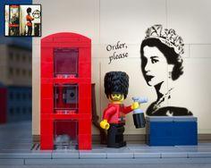 Banksy Pieces in LEGO | Jeff Friesen fotografiert Banksy Bricks aka Bricksy ( 12 Bilder ) | Atomlabor Wuppertal Blog