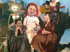 Ever since I came across Kentish Town artist Paula Rego's painting 'The Family' I've been overwhelmingly drawn to her women. Paula Rego Art, Inspiration Art, Digital Museum, A Level Art, Feminist Art, Art Archive, Portrait Art, Portraits, Sculpture