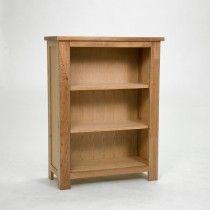 Lansdown Oak Narrow Low Bookcase with 2 shelves Light Oak Furniture, Low Bookcase, Office Equipment, Home Office, Shelves, Room, Home Decor, Bedroom, Shelving