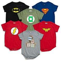 Super Baby! These would make sweet baby boy clothes on t-shirts to.