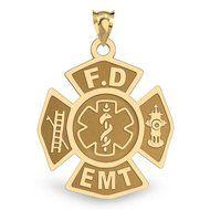 Firefighter EMT Badge