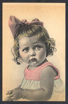 Vintage Postcard ~ Sweet Baby | Flickr - Photo Sharing!