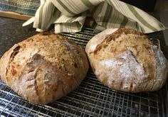 Same Day Sourdough Sandwich Boule – Rural Alberta Home Cooking Meat And Cheese, Bread Recipes, Peanut Butter, Sandwiches, Cooking, Food, Kitchen, Essen, Eten