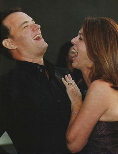 """""""It's just as hard staying happily married as it is doing movies."""" -Tom Hanks (married to Rita Wilson for 23 years and counting)"""