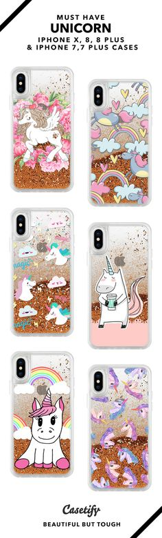 Must Have Unicorn iPhone X, iPhone 8, iPhone 8 Plus, iPhone 7 and iPhone 7 Plus case. - Shop them here ☝️☝️☝️ BEAUTIFUL BUT TOUGH ✨ - unicorns, dreamy, unicorn art, unicorn customs
