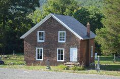Oakland Grove Presbyterian Church in Alleghany County, Virginia.