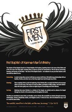 Men's Ministry Design