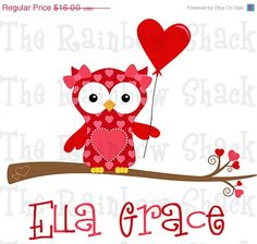 ON SALE Girly Owl Valentine's Day Shirt  by TheRainbowShack, $14.40  Can't wait until Zoey's new valentines day onesie gets here!!