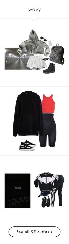 """wavy"" by camelkristian ❤ liked on Polyvore featuring outerwear, jackets, orange, orange jacket, red zip up jacket, red jacket, unisex jackets, zip up jackets, Maidenform and NIKE"