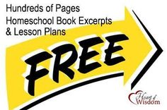 Free Book Excerpts & Homeschool Lessons