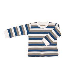 Økologisk langærmet sweatshirt fra Boowoo i 100 % bomuld af god kvalitet. Ændre ikke facon og farve i vask.