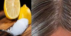 Coconut Oil And Lemon Paste: It Changes Gray Hair To Your Natural Color! When individuals think of the advantages of coconut oil they normally think of. Grey Hair Remedies, Stay Young, White Hair, Gray Hair, Black Hair, Healthy Skin, Home Remedies, Mascara, Coconut Oil