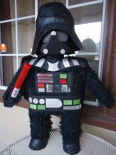 Alex would LOVE this- Darth Vader Pinata by partylycyous