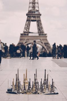 One Day I will be there standing next to the eiffel tower