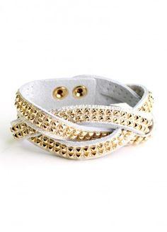 Leather Me Up Bracelet  $24.00