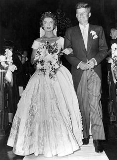 Jackie & John F. Kennedy